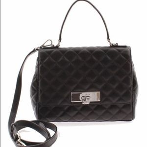 Michael Kors Callie Sm Quilted Leather Messenger